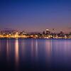 Blue hour over Auckland