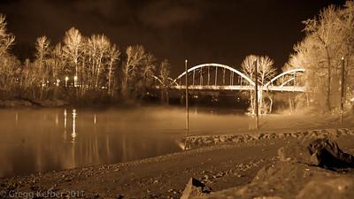 99E Bridge over the Clackamas River
