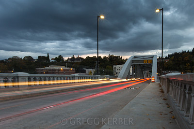 Light trails on the Arch Bridge