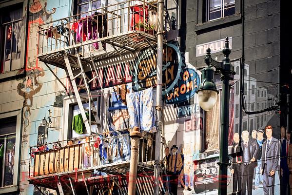 Columbus and Broadway Mural