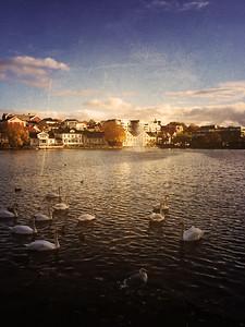Breiavatnet Lake (taken with my Ipod)
