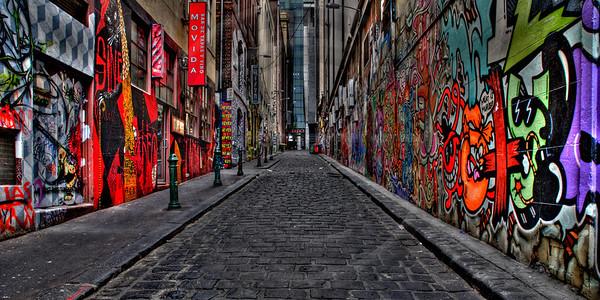 Hosier Lane Grafitti - Melbourne