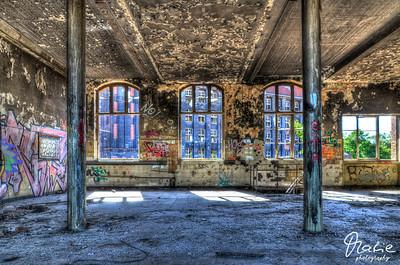 abandoned tirefactory