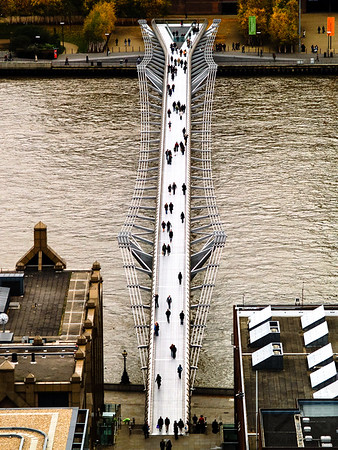 Millennium Bridge - London, UK