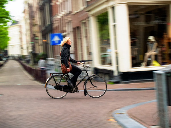 In the streets of Amsterdam - Netherlands