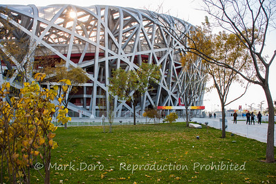 Birds Nest, Beijing Olympic Park, Beijing, China