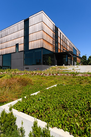 Burke Museum at the University of Washington in natural landscape