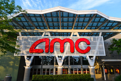 Front of AMC Movie Theater