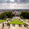 View from Montmartre - Paris, France