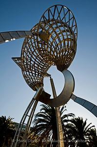 Sculpture, Docklands, Melbourne