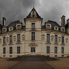 A nine shot pano  of the Château de Cheverny in France.