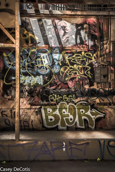 Griffith Park Graffiti 1