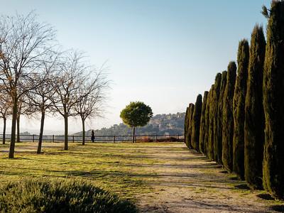 Vista desde Chinchón, España.