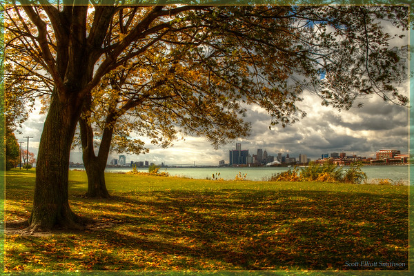 Detroit From Belle Isle