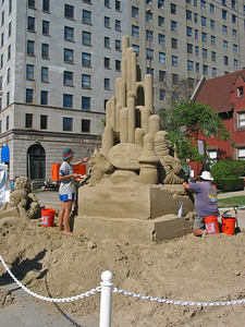 Sandcastles in Detroit