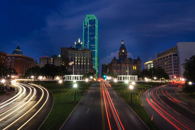 Dealey Plaza - Dallas, Texas