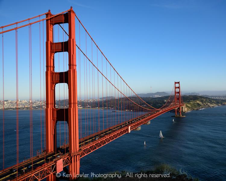 Golden Gate sailboats