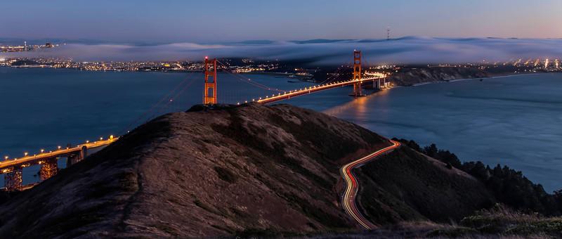 """Golden Gate at Sunset"""