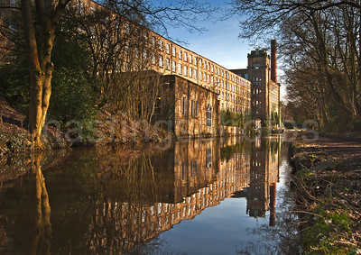 Bollington Mill, Derbyshire