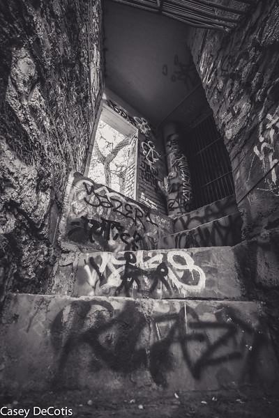 The Graffiti Stairs
