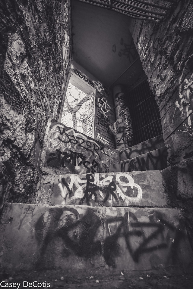 The Graffiti Stairs