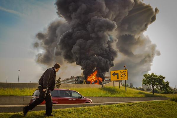 I-75 Tanker Fire