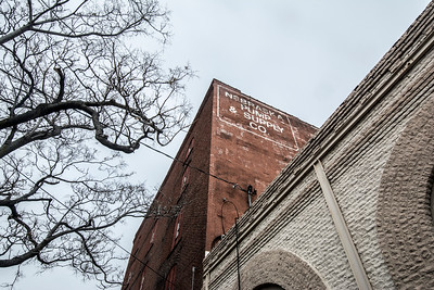 An old building in the Haymarket area of downtown Lincoln, Nebraska