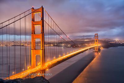 Golden Gate Bridge Perspective