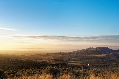 Vista desde Chinchón, España