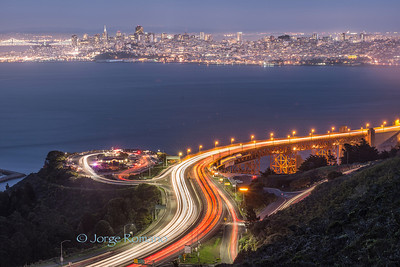 San Francisco Lights and Trails.