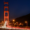 Golden Gate evening traffic II