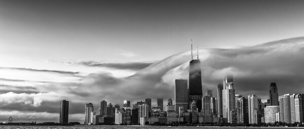 Windy City Flow black & white