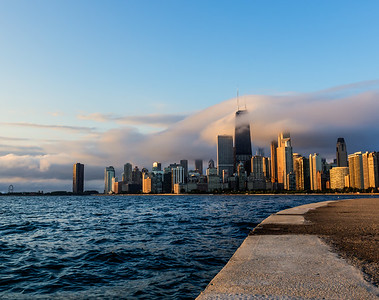 Windy City Flow sunrise