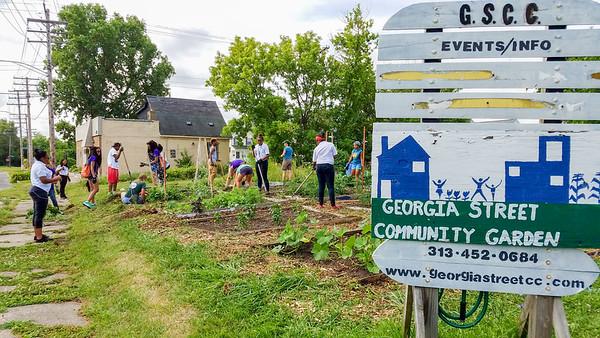 Georgia Street Community Garden