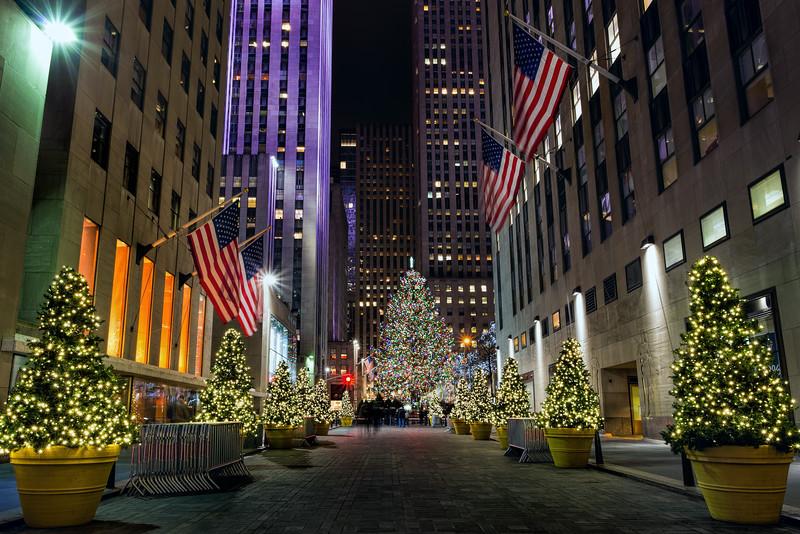 Rockefeller Plaza, New York (December 2016)