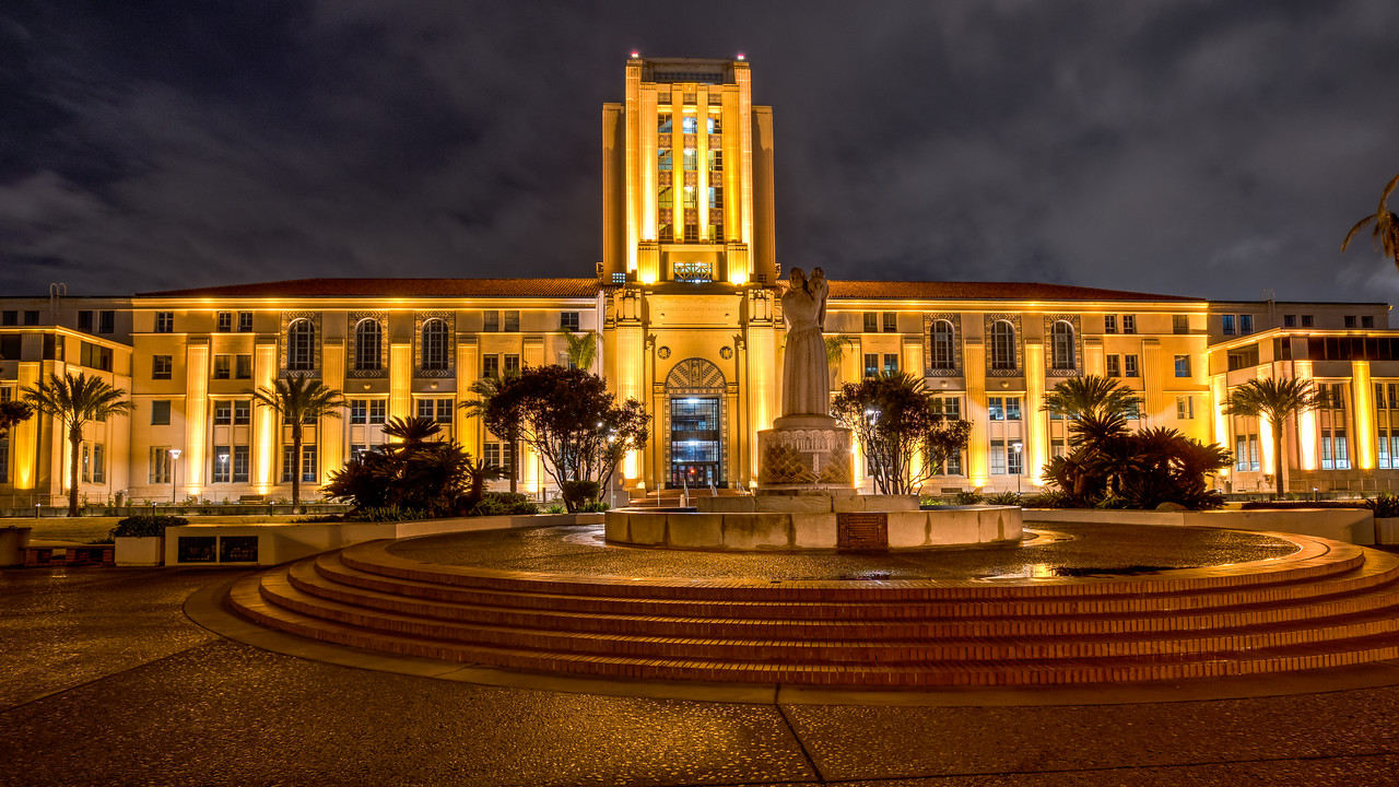 San Diego City and County Administration Building.