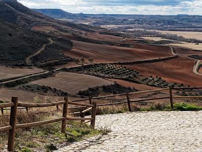 Desde el Castillo de Jadraque, España.