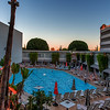 Sunset Over Beverly Hills Hotel