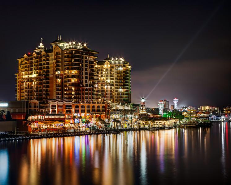 Destin Harbor, Florida (August 2014)