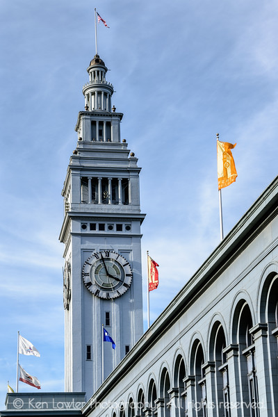 Four PM at the Ferry Building