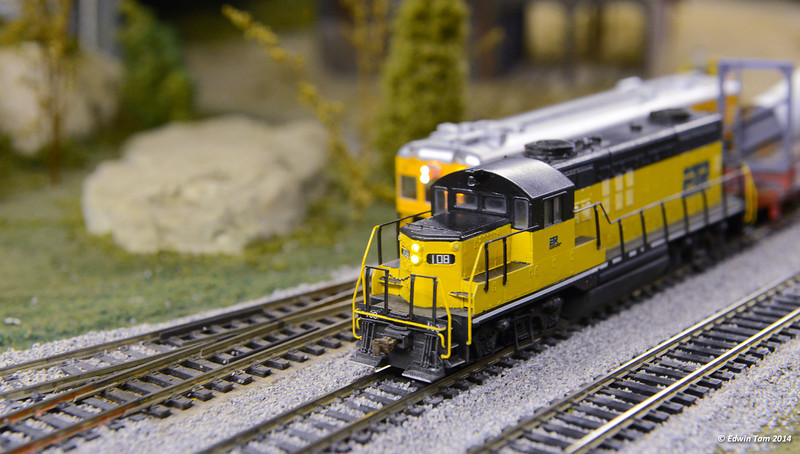 Windsor Modular Railroad Club's Open House at the Ottawa Street Market on February 15, 2014 in Windsor, Ontario.
