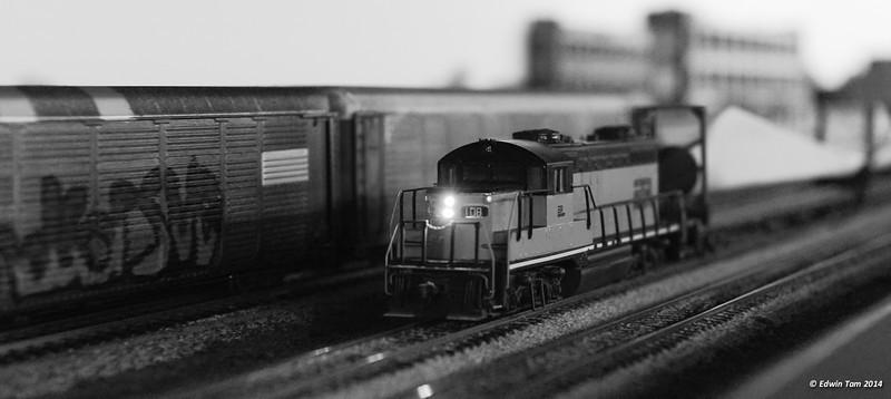 Windsor Modular Railroad Club's Open House at the Ottawa Street Market on February 15, 2014 in Windsor, Ontario.