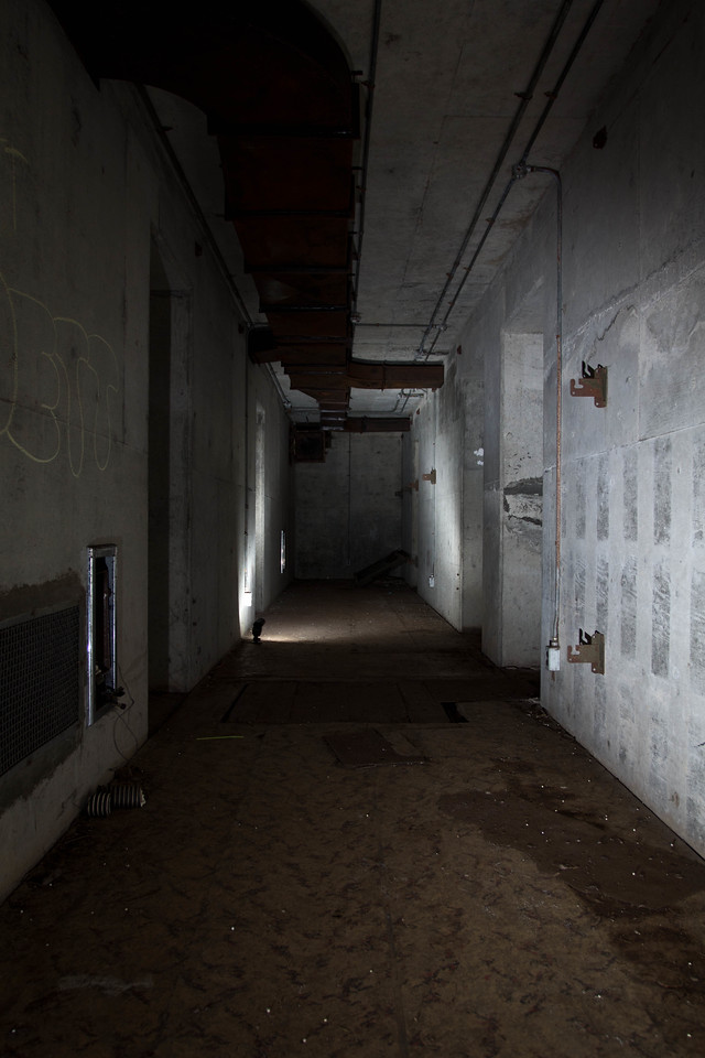The main hallway.