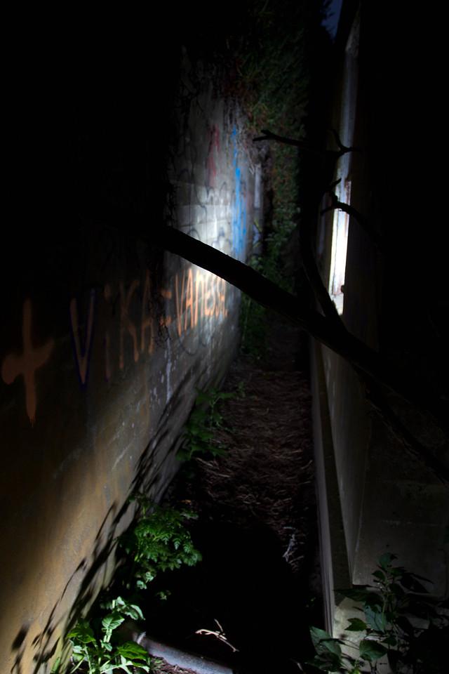 ... the narrow passage ...