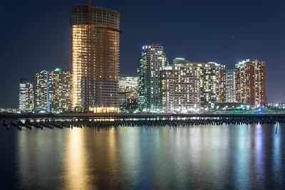 Newport Skyline at Night