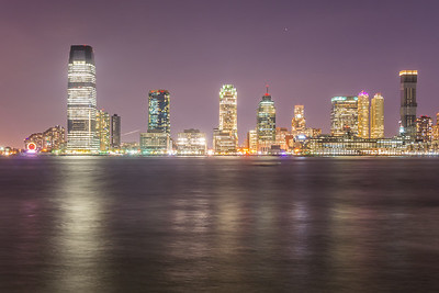 Downtown Jersey City Skyline