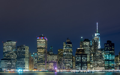 Lower Manhattan Skyline taken from Brooklyn Heights