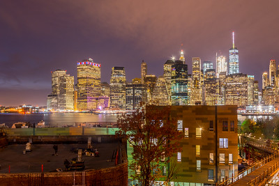 Lower Manhattan City Lights