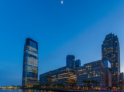 Exchange Place in the Early Evening
