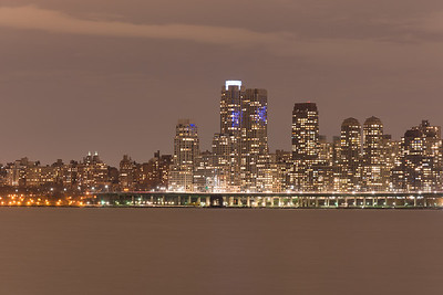 Night time on the UWS